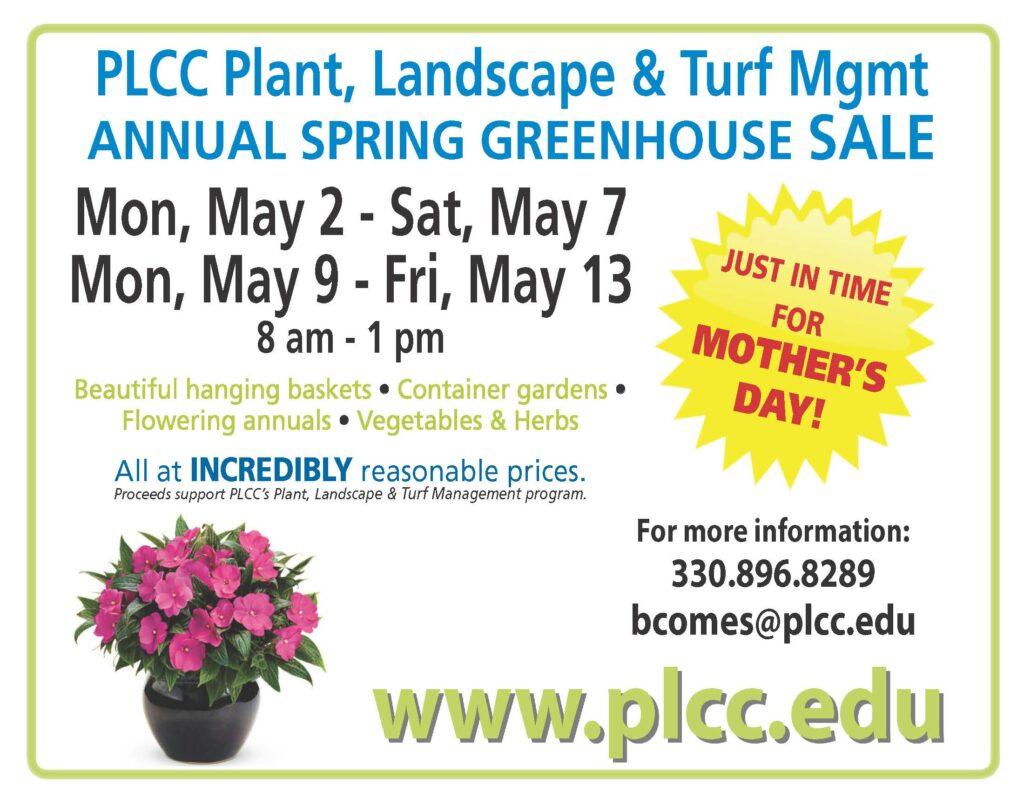 Annual Spring Flower & Plant Sale @ Portage Lakes Career Center | Uniontown | Ohio | United States