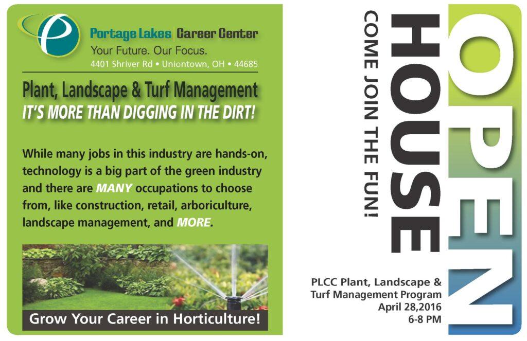 Plant, Landscape & Turf Mgmt OPEN HOUSE @ PLCC - HORT BUILDING | Uniontown | Ohio | United States
