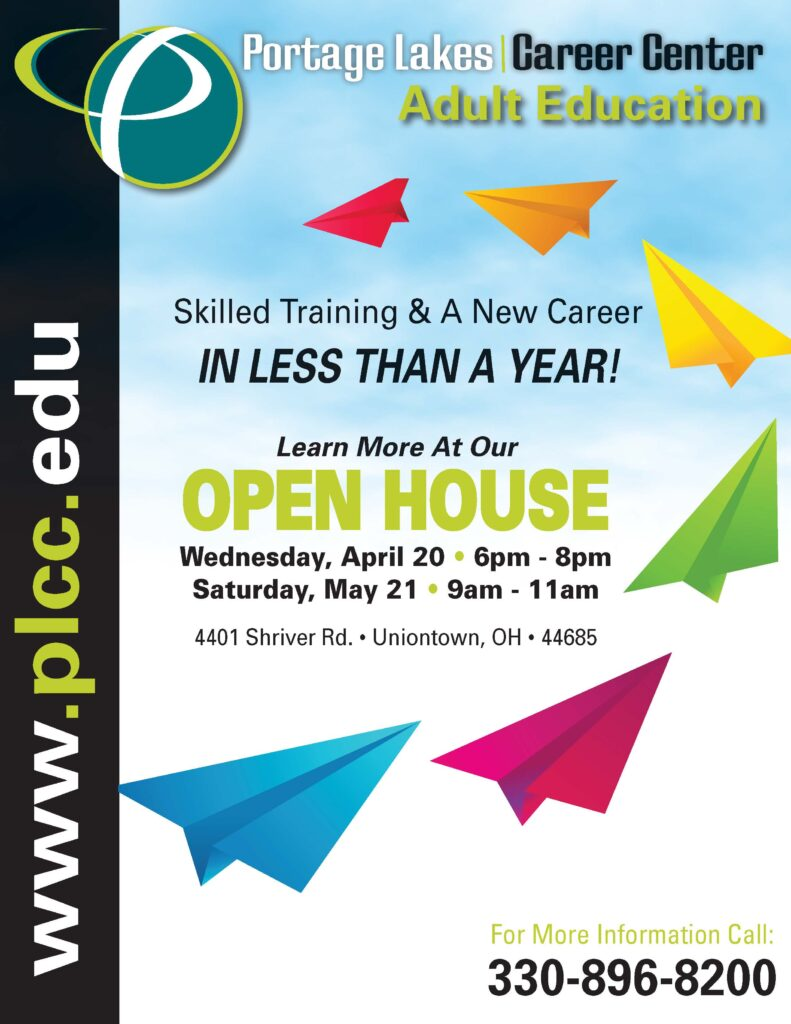 Adult Education Open House @ Portage Lakes Career Center | Uniontown | Ohio | United States